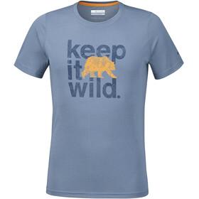 Columbia Miller Valley t-shirt Heren grijs